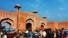 Ajmeri Gate, Jaipur, Rajasthan, India